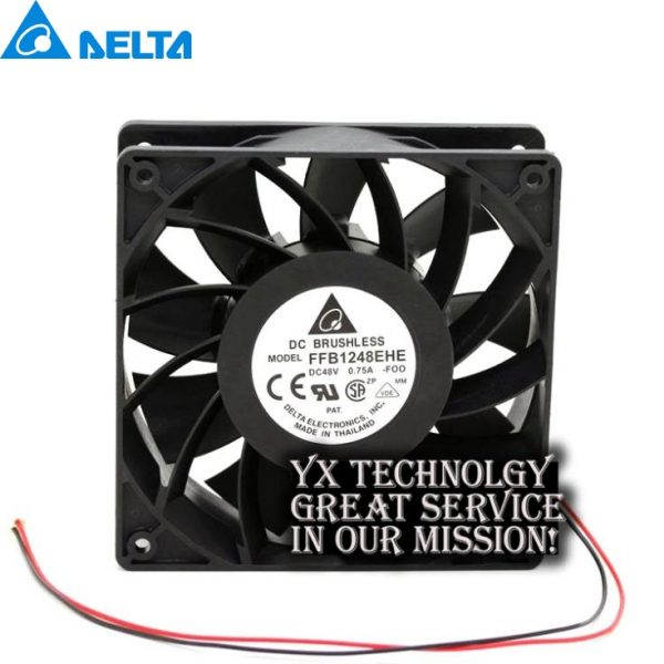 120*120*38MM FFB1248EHE-FOO 12038 48V 0.75A double ball converter fan