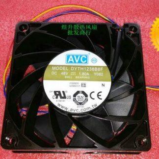 Original AVC 12038 DC 48V 1.80A Y082 120*120*38MM DYTH1238B8F 4-wire server industrial cooling fan