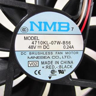 Original for NMB 4710KL-07W-B56 V02 48V 0.24A 12CM 12025 Alarm Signal 4-wires Inverter cooling fan