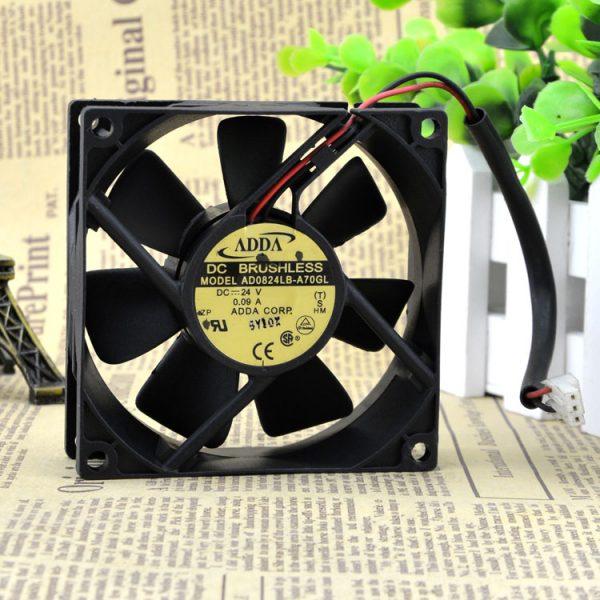 Free Delivery. AD0824LB A70GL 8025-8 cm 2 line 24 v 0.09 A inverter fan