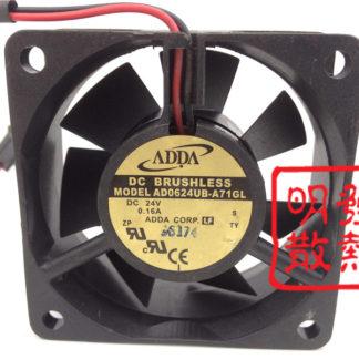 Original genuine 6025 24V 6CM AD0624UB-A71GL DC fan inverter fan