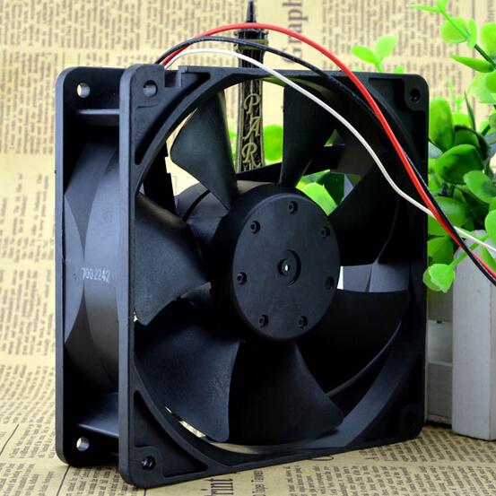 NMB 4715KL-04W-B49 120*120*38 12cm 12V0.9A 3pin dual ball big air fan
