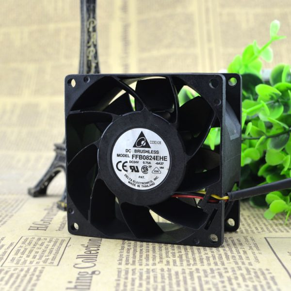Free Delivery. Original FFB0824EHE 8038 24 v 0.75 A inverter fan Big air volume fan