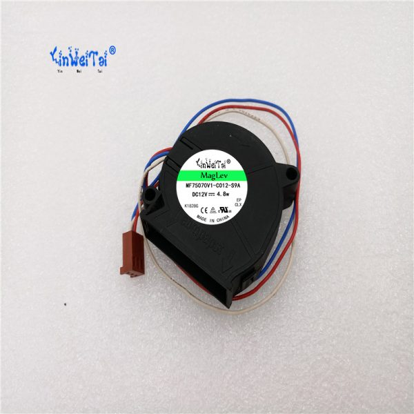 90%NEW LAPTOP COOLING FAN For ebmpapst RLF35-8/12N/2 12v 235mA 2.8W RLF35-8/12N/2 12V 300mA 3.6W 7656066 B2 CPU Cooling Fan 3Pin