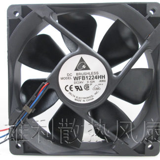 Free Delivery.12025 12CM Double Ball Fans WFB1224HH 24V 0.32A Inverter Fans
