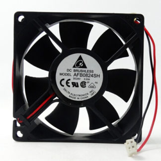 The original Delta AFB0824SH 80*80*25 8cm 24V 0.33A dual ball converter fan