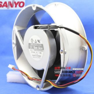 SANYO 109E2024V0S03 20070 20cm 200mm Round DC 24V 1.9A gale aluminum frame cooling fan