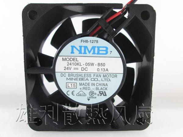 Free Delivery. Car 24V Cooling Fan 6025 24V 6cm 6cm Hydraulic Double Ball Inverter Fan