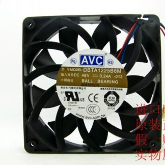 AVC DBTA1225B8M 48V 0.24A 12CM 12025 three line drive cooling fan