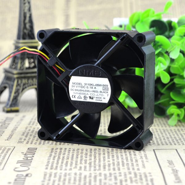 Free Delivery. 8025 24 v 0.18 A kl 3110-05 w line 3-8 cm B69 power inverter fan