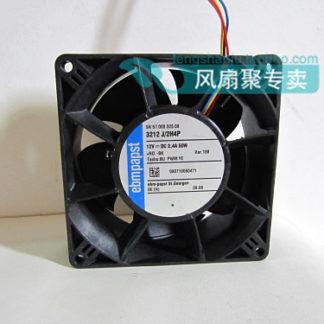 Original EBMPAPST 3212 J / 2H4P 12V 4.2A 50W 9CM 92 * 92 * 38mm ultra-violence booster fan cooling fan