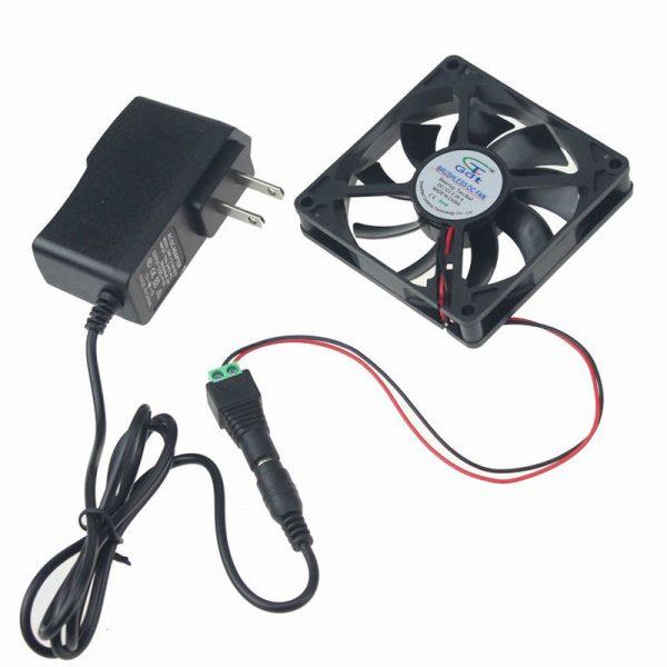 1PCS Gdstime 80mm 15mm New Case Fan 110V 115V 120V AC DC Cooling Kit Ball Brg Cabinet
