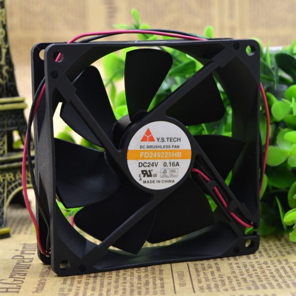 Original Y.S.TECH FD249225HB 9025 24V 0.16A 9CM inverter fan