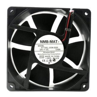 NMB-MAT7 12CM 4715KL-05W-B30 120*120*38 24V 0.4A dual ball converter fan