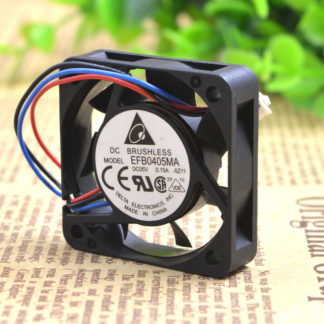 Original DELTA EFB0405MA 5V 0.15A 4CM 4010 cooling fan 40x40x10mm