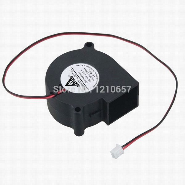 1PCS Gdstime 12V 2Pin 60mm 60x28mm 6028s Brushless DC Cooler Cooling Exhaust Blower Fan Heatsink Radiator