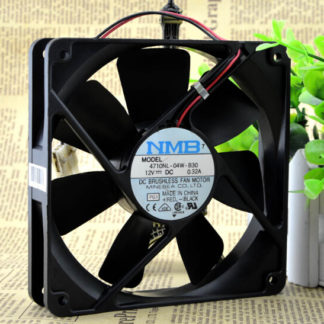 NMB 4710NL-04W-B30 12V 0.36A  2wire double ball fan