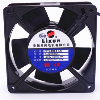 QA12038HBL2 small axial fan cooling fan 220V 21W 0.14A 120*120*38mm