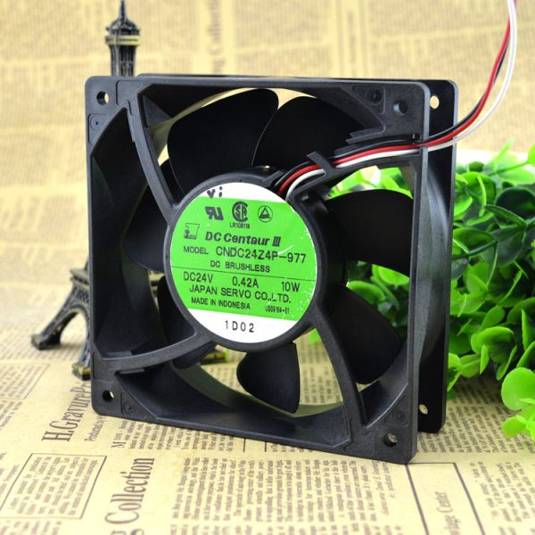Free Delivery. CNDC24Z4P - 977, 12038, 24 v 0.42 A 10 w 12 cm inverter fan