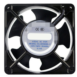 AC Axial Fan Copper Coil TA12038 Industrial Welder Cooling Fan 110V 220V 380V Brushless fan