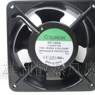 Free Delivery.SP100A 1123XBT.GN 12038 115V cabinet fan