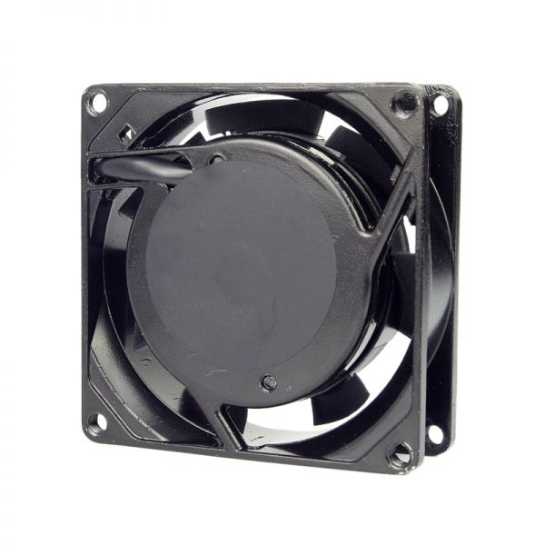 ALSEYE AC 220/240V Fan 80mm Two Ball Bearing Cooling Fan with Cover 50/60 HZ 2600RPM Metal frame 8cm AC cooling fans