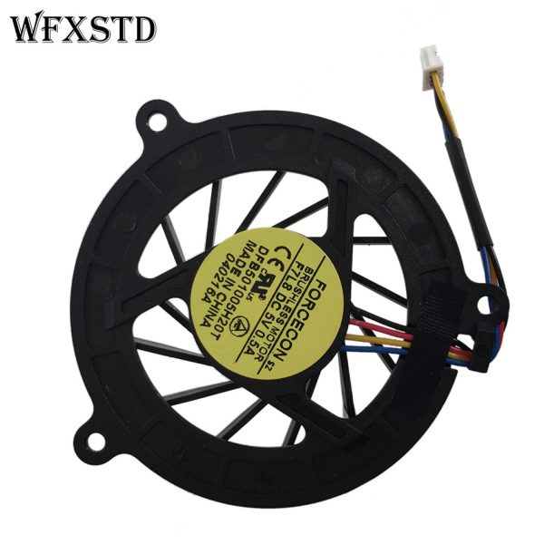 New Original Cpu Cooling Fan For ASUS A8 A8J A8F Z99 X80 N80 N81 F3J F8S Z53J Z53 M51 DC Brushless Notebook Cooler Radiators Fan