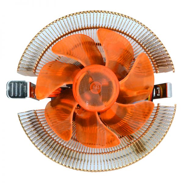 Temperature control mute copper CPU heat sink fans desktop PC fan cooler cooling for AMD cpu fan 775 1155