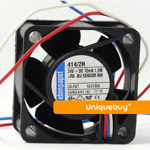 3line 1.6W 4CM 24V 414/2H for ebmpapst Inverter fan