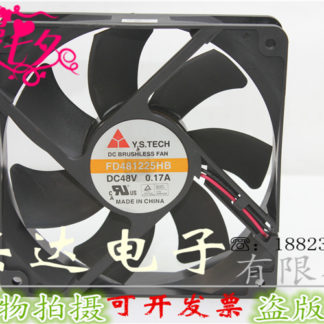 New original FD481225HB 48V 0.17A 12CM cooling fan communication box