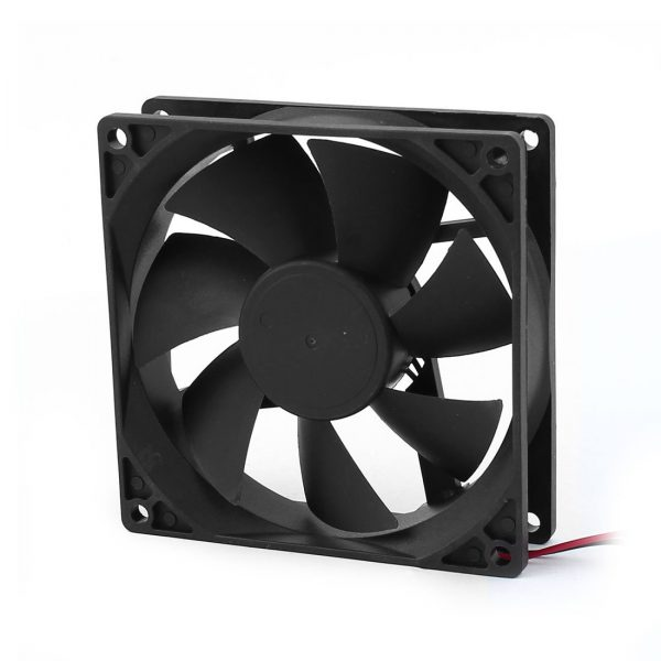 10 Pcs Wholesale 90mm x 25mm 9025 2pin 12V DC Brushless PC Case CPU Cooler Cooling Fan