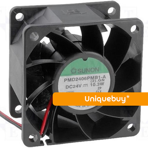 PMD2406PMB1-A DC24V 10.3W For Sunon high volume ball inverter fan 60*60*38mm