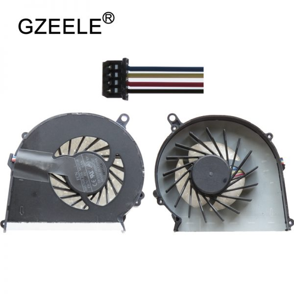 GZEELE new Laptop cpu cooling fan for HP for Compaq CQ58 CQ57 G58 G57 650 655 Laptops Component Cpu Cooler Fan Notebook Computer