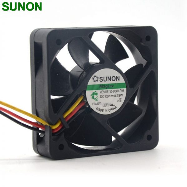 SUNON ME50151V3-D04U-G99 5015 12V 0.78W 3P silent quiet low noise cooling fan