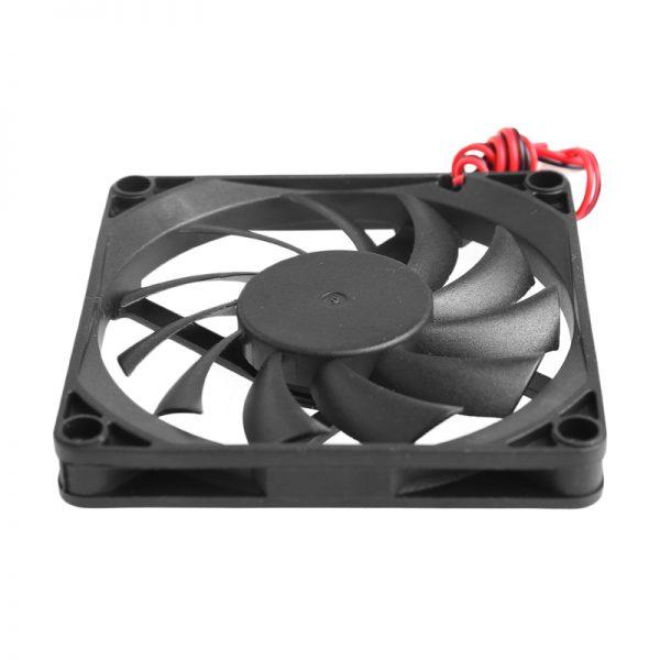 24V 2-Pin 80x80x10mm Computer PC CPU System Heatsink Brushless Cooling Fan 8010