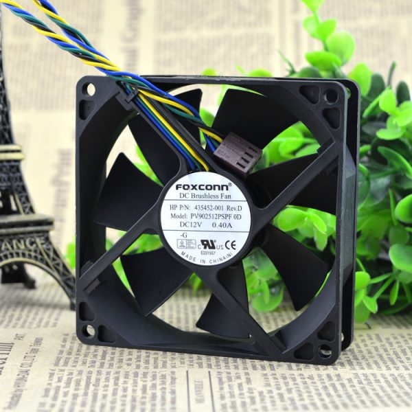 Free Delivery. 9 cm/cm 4 needle/line temperature control of PWM control CPU cooling case fans