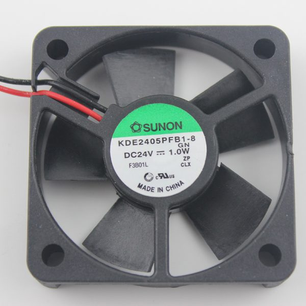 12038 120x120x38mm 120mm fan 24V 0.45A Two - line Double ball bearing large air volume inverter cooling fan
