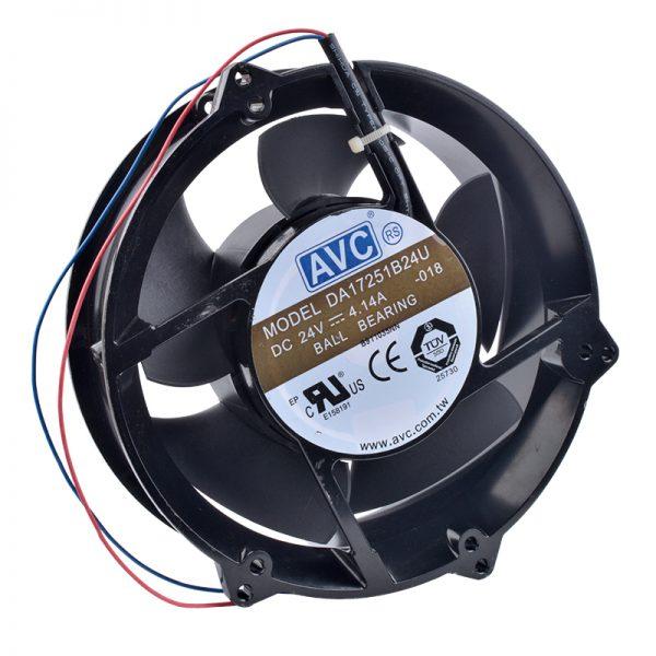 COOLING REVOLUTION DA17251B24U 17cm 170mm fan 17251 172x172x51mm 24V 4.14A Double ball bearing cabinet metal cooling fan