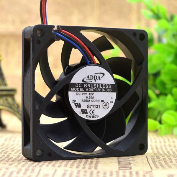 Taiwan hi hi ADDA 7CM 7015 0.20A AD0712HB-D93 CPU cooling fan