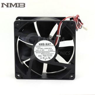 Original NMB 4715KL-05W-B39 12038 12cm 120mm DC 24V 0.36A 8.64W 3 lines 3-pin alarm signal server axial fans