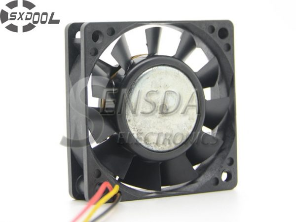 SXDOOL Original FBK06T24H 6CM 6015 three-wire inverter fan 24V 0.11A axial DC Brushless cooling fan