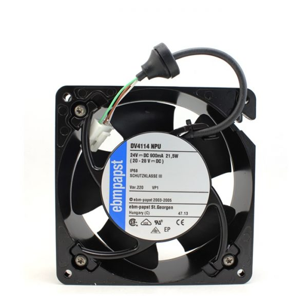New original DV4114NPU 12038 24V 0.9A waterproof fan axial machine