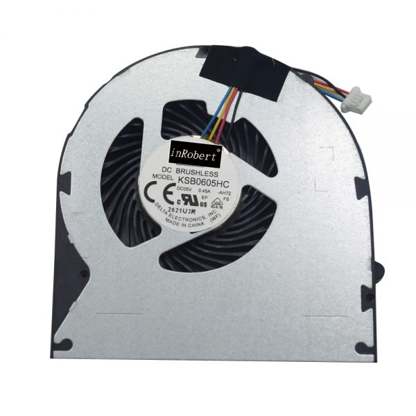 Original New Laptop Cooler Fan KSB0605HC AH72 -AH72 0.45A For Lenovo Ideapad B570 B575 V570 Z570 DC Brushless CPU Cooling Fan
