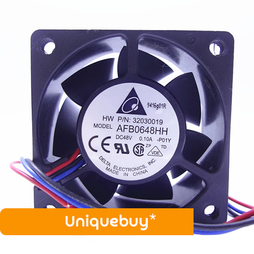 Fan 0.10A radiator Inverter fan Two Ball Bearing CPU 48V AFB0648HH for Delta
