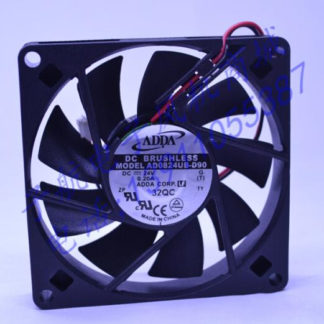 Wholesale: original AD0824UB-D90 80*80*15 24V 0.2A ADDA chassis cabinets fan