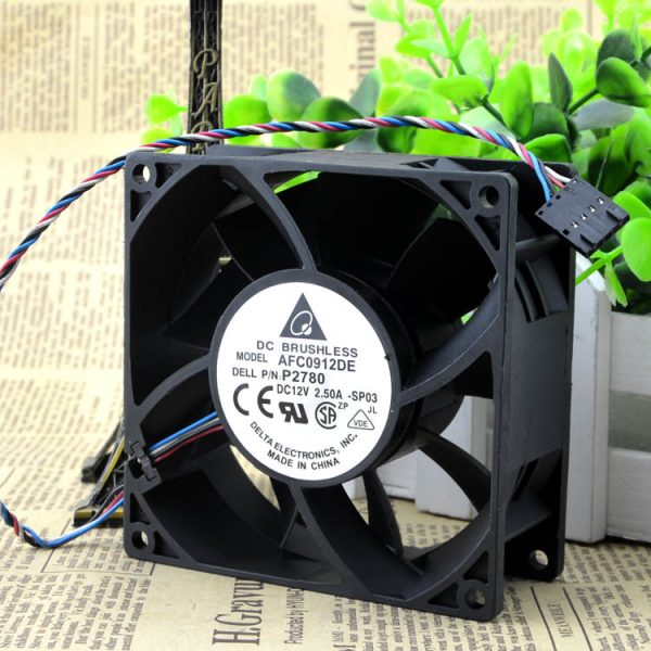 Fan for 0P2780 DC 12V 2.50A AFC0912DE sq92X92X38mm well tested working
