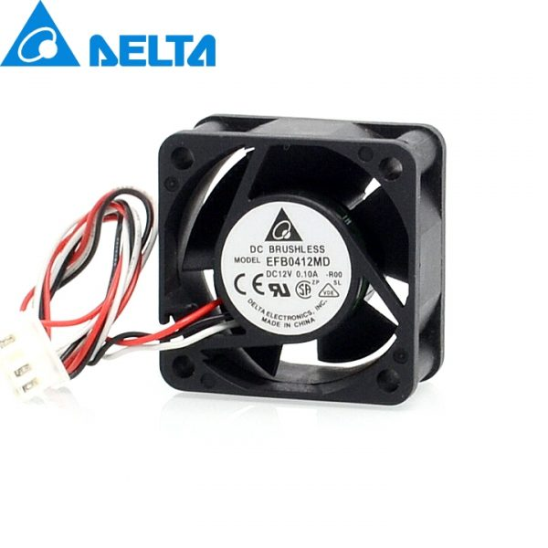 Free shipping original Delta 40*40*20mm EFB0412MD-ROO 4020 12V 0.10A 3-wire alarm signal fan