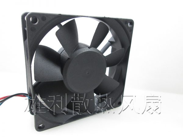 Free Delivery.PMD2408PTB1-A 8025 24V 4.8W 3-wire Double Ball Large Fan Inverter Fan