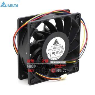 Delta FFC1212DE Original 12cm 12038 120mm DC 2.4A ball bearing fan violence powerful case fan