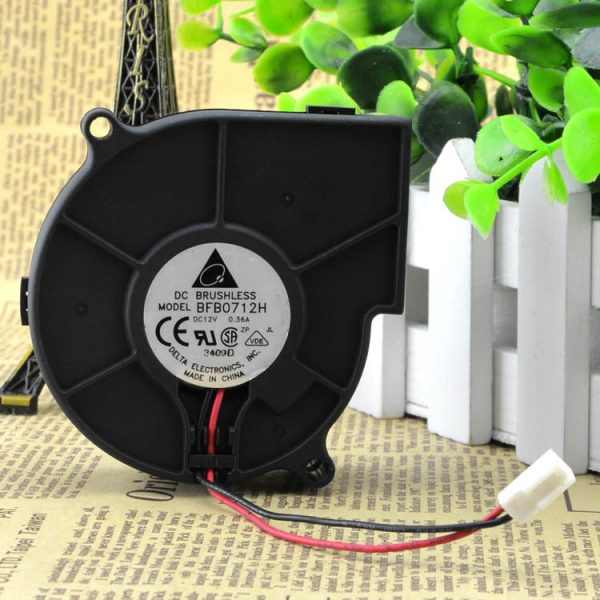 Free Shipping Original Delta BFB0712H 7530 DC 12V 0.36A projector blower centrifugal fan cooling fan 75* 75*30mm
